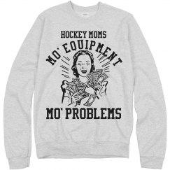 Warm and Funny Hockey Mom
