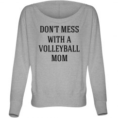 Don't mess with a volleyball mom