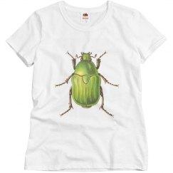 Vintage Green Beetle
