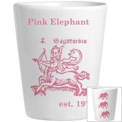 Chavada elephants shotglass