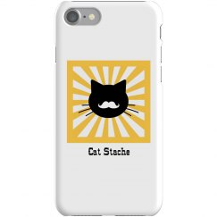 Cat Stache iPhone Case