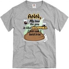 Ann, my love....