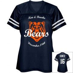 Bears Girl Jersey