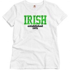 IRISH established 1975