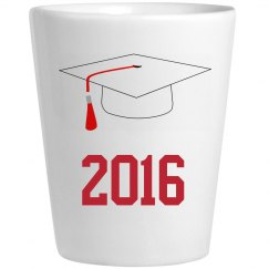 Graduation Shot Glass