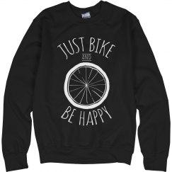 Bike And Be Happy Sweater