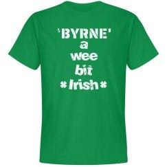 Byrne a wee bit irish