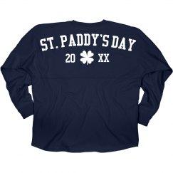 Custom St Patrick's Jersey