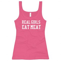Eat Meat Real Girl