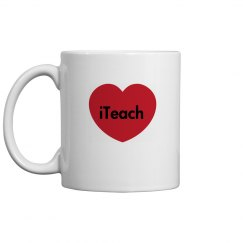iTeach Teachers Mug