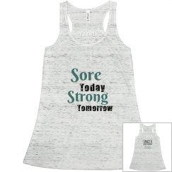 Sore today