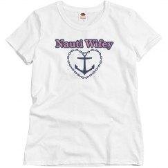Womens Nauti Wifey Shirt