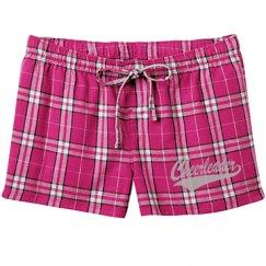 Pj cheerleader shorts