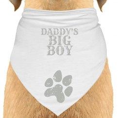 Daddy's Big Boy Pet Bandana