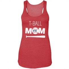 Custom T-Ball Mom