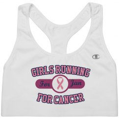 Running For Cancer Bra