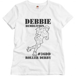 Roller Derby Demo Girl