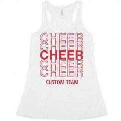 Custom Cheer Thank You Crop