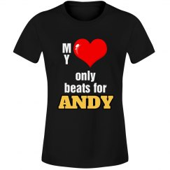 Heart beats for Andy