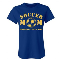A Proud Soccer Mom