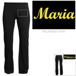 Maria, yoga pants