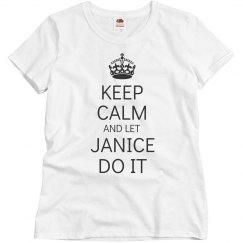 Let Janice do it