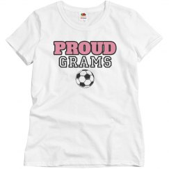 Proud Soccer Grandmother
