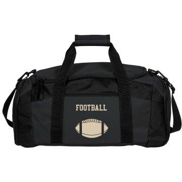 Football Design Duffle Bag
