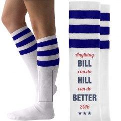 Funny Hillary Clinton Socks