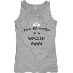 This princess is a soccer mom