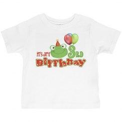 Kids 3rd Birthday