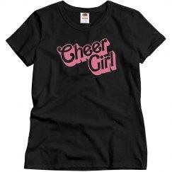Misses Cheer Girl Shirt