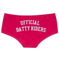 Batty Riders Shorts Twerk
