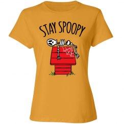 Stay Spoopy Halloween Tshirt