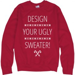 Custom Ugly Christmas Sweaters!