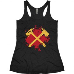 Crossed Axes Tank Top