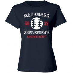 Custom Baseball Girlfriend Shirt