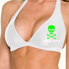 ToxicLove - GRNSkull Bikini Top