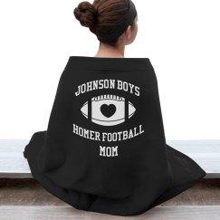 Homer Football Blanket