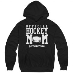 Official Hockey Mom Hoodie