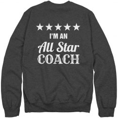 I'm a all star coach