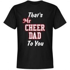 Mr Cheer Dad Tee