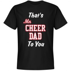 Mr Cheer Dad Tee