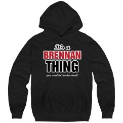 It's a Brennan thing