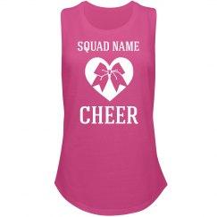 Custom Bow Cheer Squad