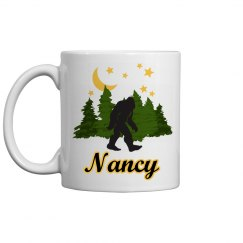 Customized Bigfoot Chillin' Coffee Mug