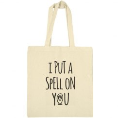 I Put a Spell on You Halloween Tote