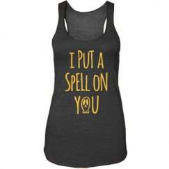 I Put a Spell on You Halloween Women's Tank