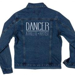 Athlete, Artist, Dancer Denim Jacket