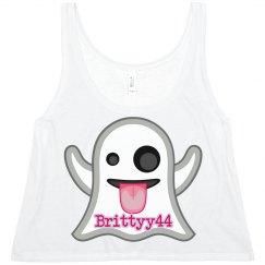 Brittyy44 Ghost Emoji Top